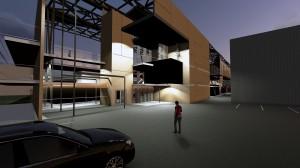 Roayn - nouveau centre commercial